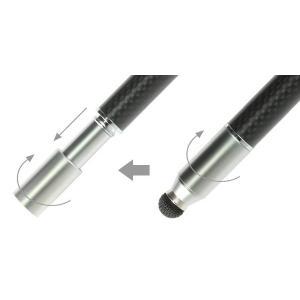 スーペン Su-Pen T-9モデル(ブラック/カーボン)タッチペン スタイラスペン スーペン iPhone6s plus iPhone iPad iPod touch対応 visavis 02