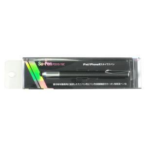 スーペン Su-Pen T-9モデル(ブラック/カーボン)タッチペン スタイラスペン スーペン iPhone6s plus iPhone iPad iPod touch対応 visavis 05