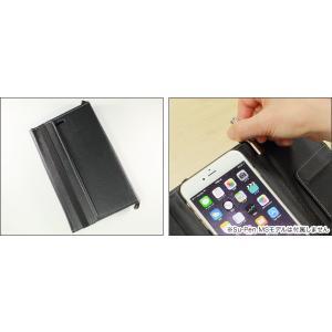 スマホケース MetaMoJi Su-Penホルダー付 手帳型ケース for iPhone 6 Plus visavis 02