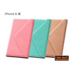 スマホ女子・ブックカバータイプ・レザージャケット(合皮タイプ) for iPhone 6