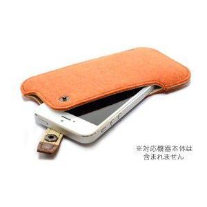 ハンドメイドフェルトケース for iPhone SE / 5s / 5c / 5 visavis