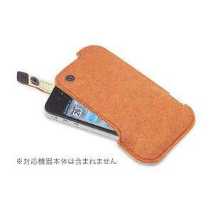 ハンドメイドフェルトケース for iPhone 4S/4 visavis