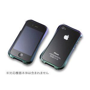 CLEAVE ALUMINIUM BUMPER LIMITED for iPhone 4S/4(ジュエルビートル)|visavis