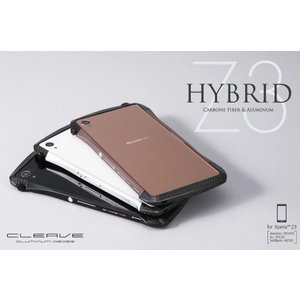 送料無料 CLEAVE Hybrid Bumper for Xperia (TM) Z3|visavis