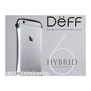 ディーフDeff iPhone6 Plus用アルミバンパー【送料無料】CLEAVE Hybrid Bumper for iPhone 6 Plus|visavis