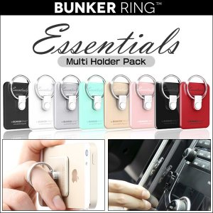 URBAN DESIGN Bunker Ring Essentials Multi Holder Pack /代引き不可/ 落下防止 リング スマホ タブレット