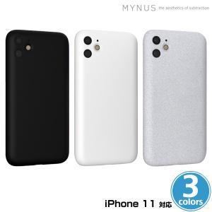 iPhone11 用 MYNUS ケース for iPhone 11 カメラ部分をギリギリまでカバーしたミニマルデザインケース マイナス アイフォーン11用ケース|visavis