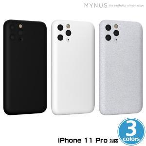 iPhone11 Pro 用 MYNUS ケース for iPhone 11 Pro カメラ部分をギリギリまでカバーしたミニマルデザインケース マイナス アイフォーン11プロ用ケース visavis