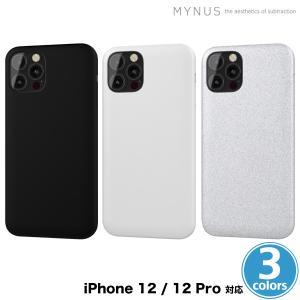 iPhone 12 Pro 薄型軽量シンプルデザインケース MYNUS iPhone 12 Pro CASE ワイヤレス充電対応 割れにくい高性能樹脂使用 側面ボタンレス iPhone 12にも対応|visavis
