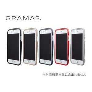 送料無料 GRAMAS Round Metal Bumper MB524 for iPhone 6|visavis