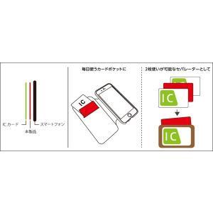 Deff ICカード電波干渉防止シート /代引き不可/   ICカード 電波干渉防止 シート スキミング防止 Suica ICOCA|visavis|04