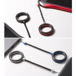 Finger Ring Strap Aluminum Combination スマホに最適 スマホ落下防止 ストラップ visavis 03