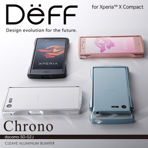 Xperia X Compact SO-02J 用 CLEAVE Aluminum Bumper Chrono for Xperia X Compact SO-02J 【送料無料】 アルミニウム バンパー エクスペリア visavis