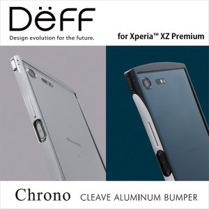 Xperia XZ Premium SO-04J 用 CLEAVE Aluminum Bumper Chrono for Xperia XZ Premium SO-04J【送料無料】アルミ バンパー ディーフ エクスペリア ケース|visavis