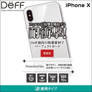 Protection Film 背面用 for iPhone X 保護 フィルム ガラスフィルム|visavis
