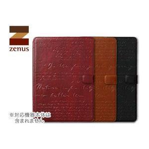 ゼヌス【送料無料!】ZENUS Lettering Diary for iPad Air 2|visavis