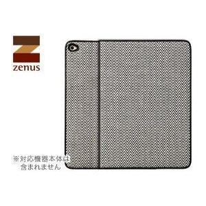 送料無料 ZENUS Herringbone Diary for iPad Air 2|visavis