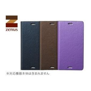 送料無料 ゼヌス Zenus Metallic Diary for Xperia (TM) Z3 Compact SO-02G|visavis
