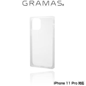 "iPhone11 Pro ガラスハイブリッドケース GRAMAS COLORS  ""Glassty"" Glass Hybrid Shell Case for iPhone 11 Pro CHCGP-IP01CLR ポリカーボネート&TPU Qi対応 visavis"