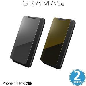 iPhone11 Pro ミラーガラスフィルム GRAMAS Protection Mirror Glass for iPhone 11 Pro GPGMG-IP01 グラマス アイフォーン11 プロ 手鏡になるミラー加工 visavis