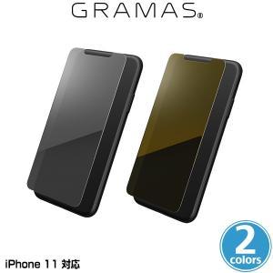 iPhone11 ミラーガラスフィルム GRAMAS Protection Mirror Glass for iPhone 11 GPGMG-IP02 グラマス アイフォーン11 手鏡になるミラー加工|visavis