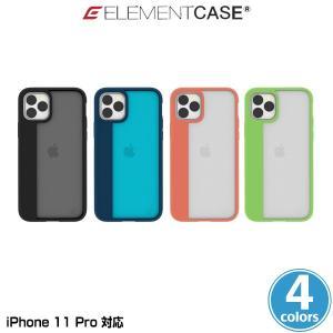iPhone11 Pro ケース ELEMENT CASE Illusion(S) for iPhone 11 Pro アイフォーン11 プロ エレメントケース 軽量フレーム MILスペック ワイヤレス充電対応 visavis