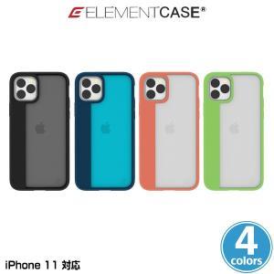 iPhone11 ケース ELEMENT CASE Illusion(M) for iPhone 11 アイフォーン11 エレメントケース 軽量フレーム MILスペック ワイヤレス充電対応 EMT-322-191F|visavis
