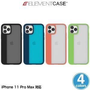 iPhone11 Pro Max ケース ELEMENT CASE Illusion(L) for iPhone 11 Pro Max アイフォーン11 プロ マックス エレメントケース MILスペック ワイヤレス充電対応 visavis