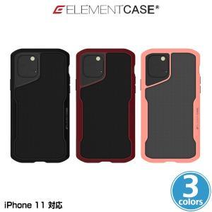 iPhone11 ケース ELEMENT CASE Shadow(M) for iPhone 11 アイフォーン11 プロ エレメントケース ソフトタッチ MILスペック ワイヤレス充電対応 EMT-322-192F|visavis