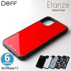 iPhone 11 ハイブリッドケース Hybrid Case Etanze for iPhone 11 DCS-IPE19M TPUバンパー&背面ガラス アイフォーン11 ディーフ エタンゼ ワイヤレス充電対応|visavis