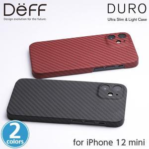 iPhone12 mini ケース Ultra Slim & Light Case DURO Special Edition for iPhone 12 mini DCS-IPD20SKVSEM アイフォーン12 ミニ カバー Deff ディーフ 製|visavis