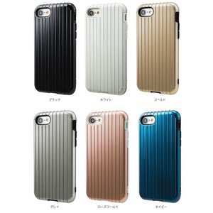 "iPhone 8 / iPhone 7 用  GRAMAS COLORS ""Rib"" Hybrid case CHC436 カバー iPhone7 アイフォン7 アイフォン|visavis|02"