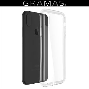 GRAMAS COLORS Glass Hybrid Clear Case for iPhone X /代引き不可/ 高硬度で透明度の高いガラスハイブリッドケース|visavis