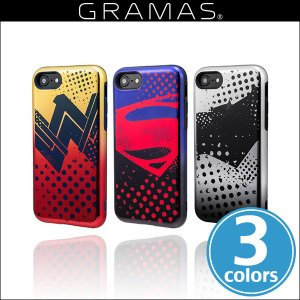 GRAMAS COLORS Hybrid Case with Justice League CHC-50137 for iPhone 8 / iPhone 7 アイフォン ストラップ ハイブリッドケース グラマス ICカード|visavis