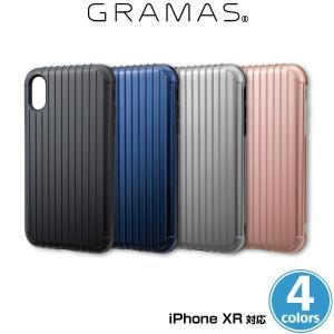 "iPhone XR 用 GRAMAS COLORS ""Rib"" Hybrid Shell case CHC-52538 for iPhone XR アイフォンXS アイフォンテンエス|visavis"