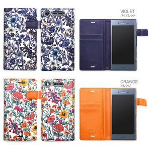Zenus Liberty Diary for Xperia XZ1 SO-01K / SOV36 【送料無料】手帳型 ケース|visavis|02