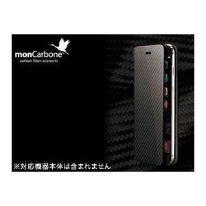 6012ce29a6 スマホケース ディーフDeff【送料無料】iPhone6 4.7インチ用monCarbone Portfolio for iPhone 6 カーボン ケース