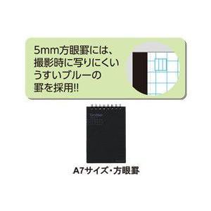CamiApp ツインリングメモA7 方眼罫 /代引き不可/|visavis