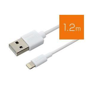 ミヨシ ライトニング(Lightning) USBケーブル スリムコネクタ(1.2m)|visavis