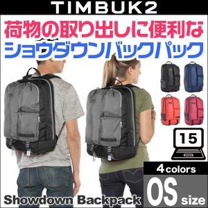 TIMBUK2 Showdown Laptop Backpack(ショウダウンバックパック)(OS)【送料無料】15インチのノートパソコンが入る大きなサイズ|visavis