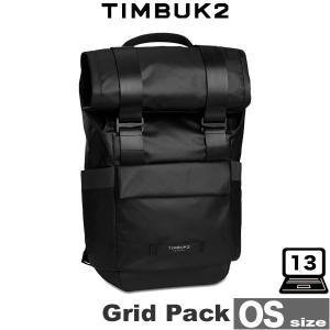 TIMBUK2 Grid Pack(グリッドパック)(OS)(Jet Black) 13インチのノートパソコン収納可能なバックパック|visavis