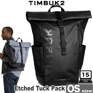 TIMBUK2 Etched Tuck Pack(エッチドタックパック)(OS) スタイリッシュでストリートで人気のロールトップパック|visavis