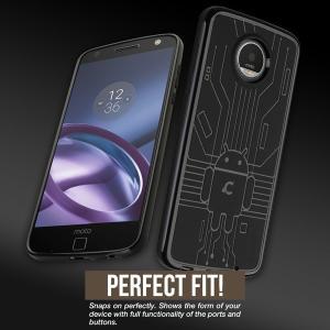 Moto Z2 Play 用  Cruzerlite Bugdroid Circuit Case for Moto Z2 Play /代引き不可/ TPU|visavis|03