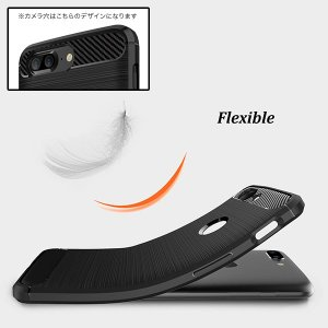 OnePlus 5T 用 Cruzerlite Carbon Fiber Shock Absorption Slim Cover for OnePlus 5T /代引き不可/ カーボン模様|visavis|05