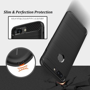 OnePlus 5T 用 Cruzerlite Carbon Fiber Shock Absorption Slim Cover for OnePlus 5T /代引き不可/ カーボン模様|visavis|06