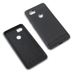 Pixel 2 XL 用  Cruzerlite Carbon Fiber Shock Absorption Slim Cover for Pixel 2 XL /代引き不可/ カーボン模様 visavis 03
