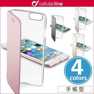 スマホケース iPhone 8 / iPhone 7 用  cellularline Clear Book 手帳型カード収納ケース for iPhone 8 / iPhone 7 カバー iPhone7 アイフォン7 アイフォン|visavis