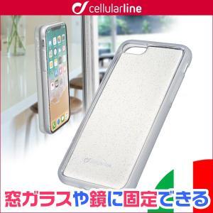 iPhone 6s / 6 用 cellularline Selfie 自撮可能ケース for iPhone 6s / 6 /代引き不可/ ガラスや鏡などフラットな壁面にしっかりと吸着 visavis