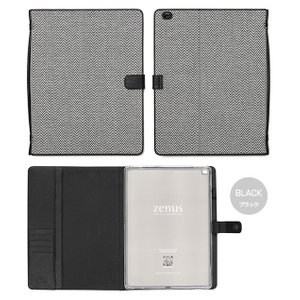 Zenus Herringbone Diary for iPad Pro 12.9インチ 【送料無料】 ケース 合成皮革 iPad カバー|visavis|03