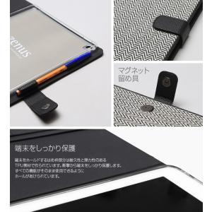 Zenus Herringbone Diary for iPad Pro 12.9インチ 【送料無料】 ケース 合成皮革 iPad カバー|visavis|06